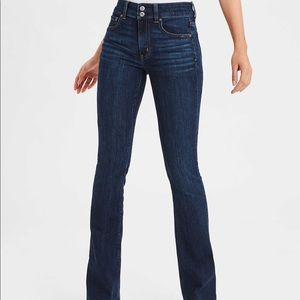 American Eagle Mid Rise Artist Flare Jeans 10